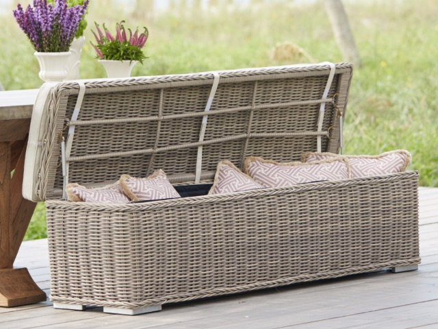 Shop Outdoor Ottomans and Storage Benches