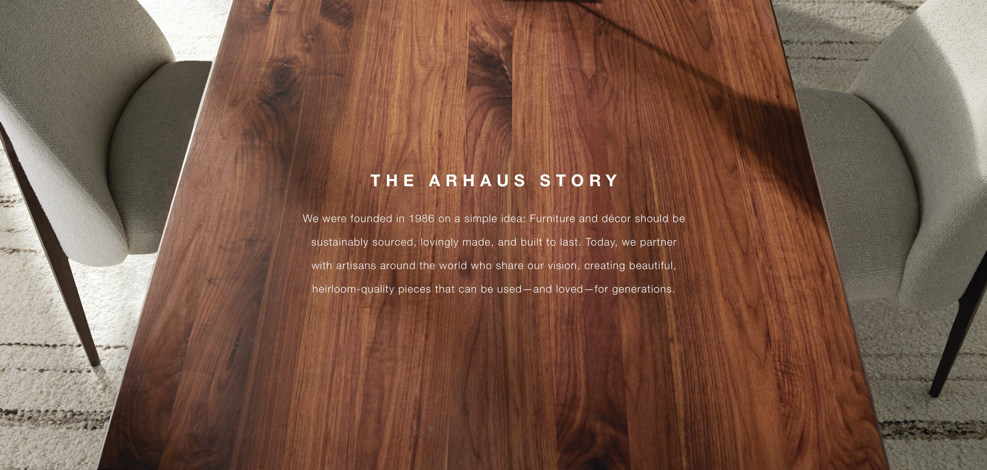 The Arhaus Story