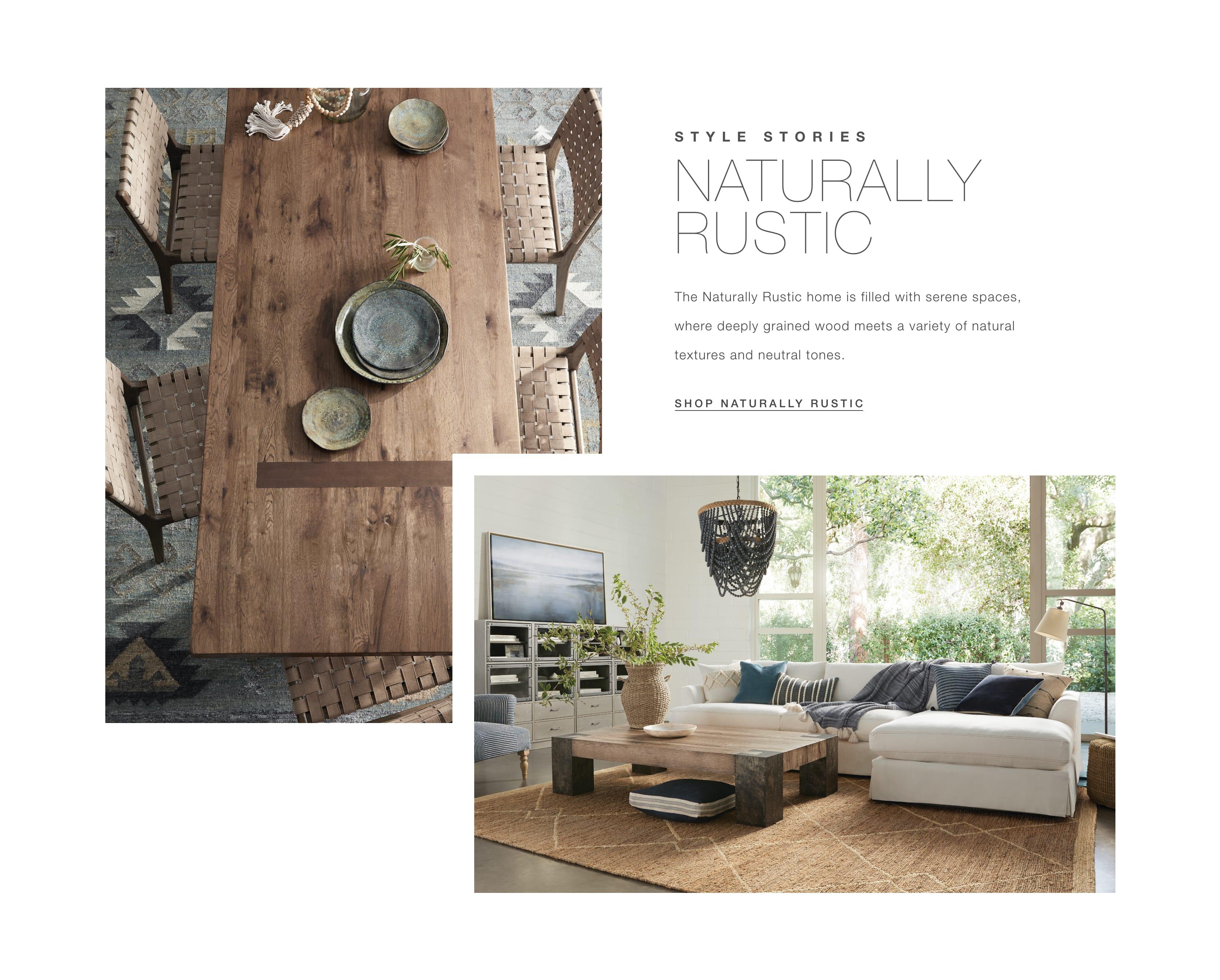 Shop Naturally Rustic