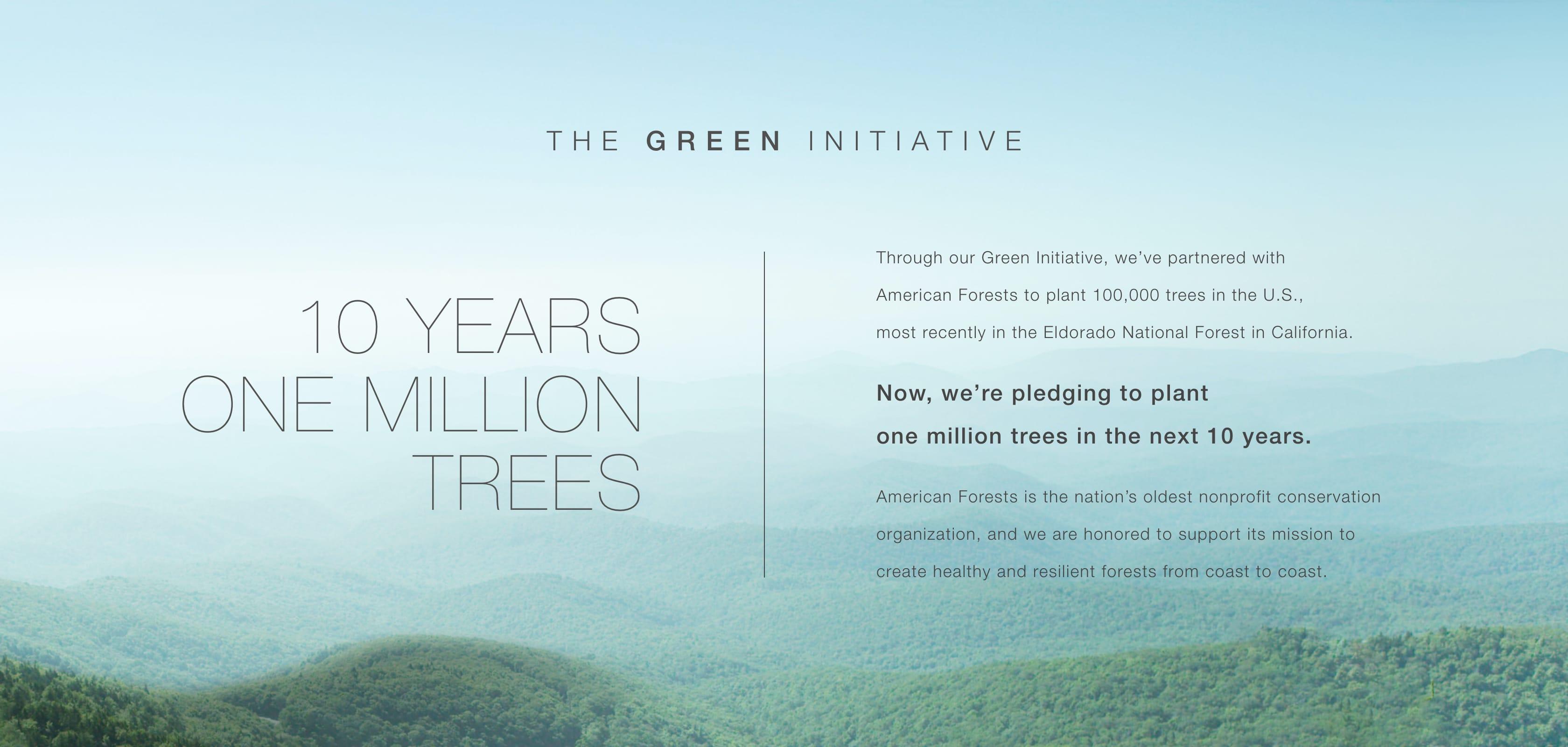The Green Initiative