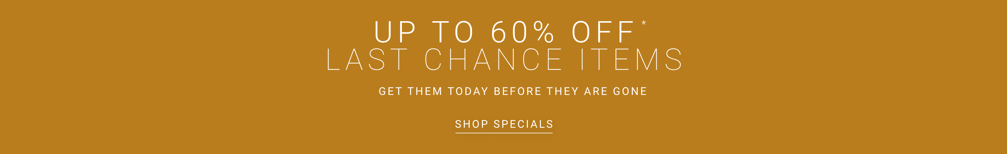 Shop Specials and Save an Extra 10%