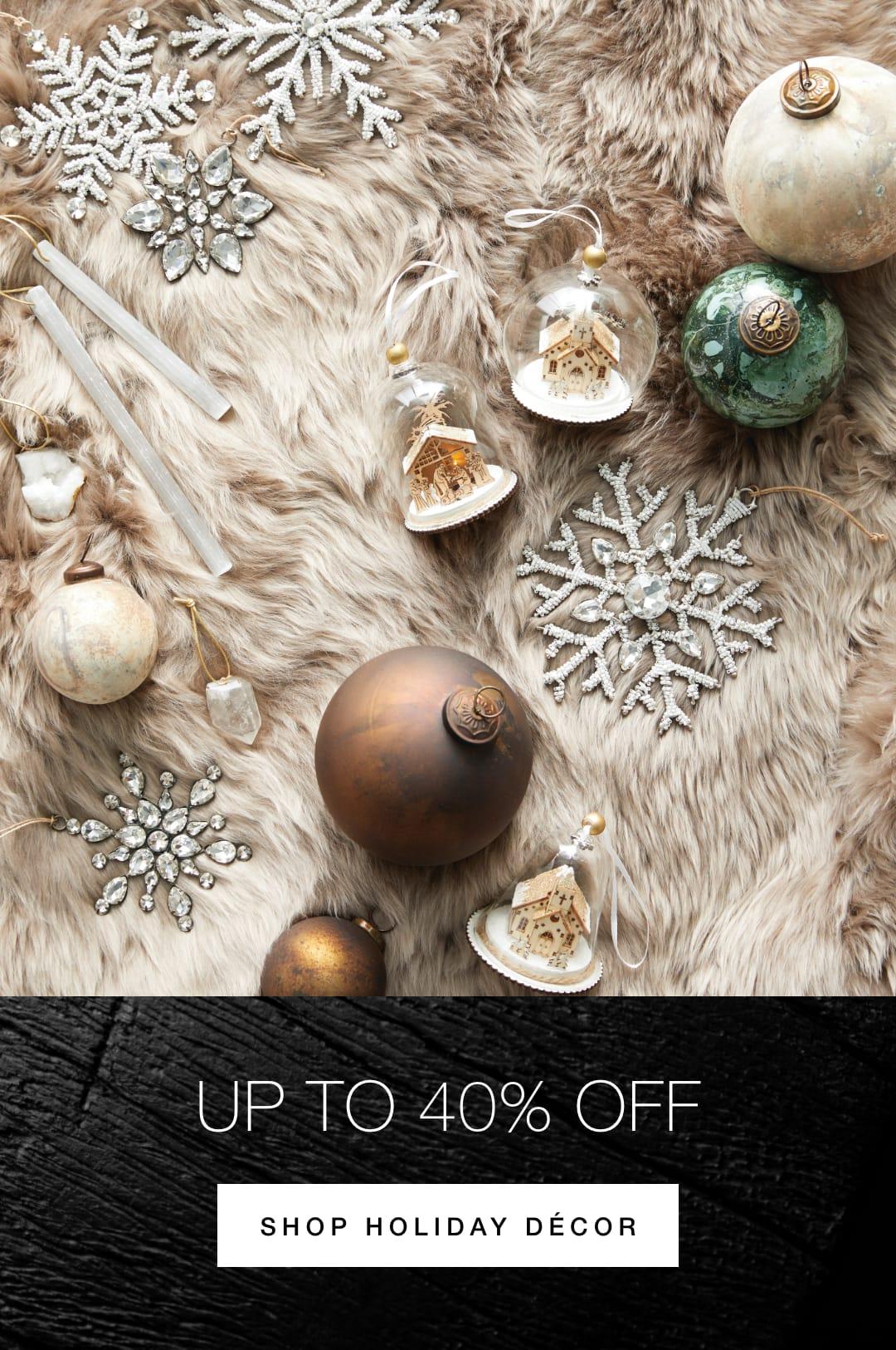 Shop Holiday Decor