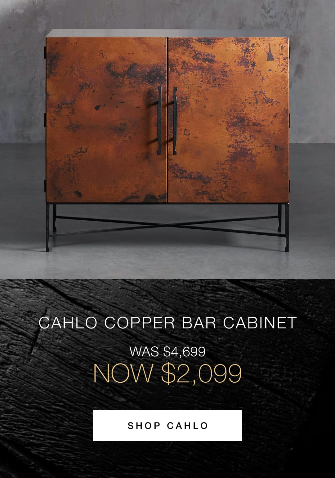 Shop the Cahlo Bar Cabinet