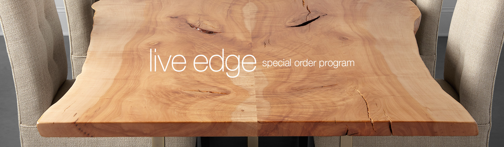Shop Arhaus Live Edge