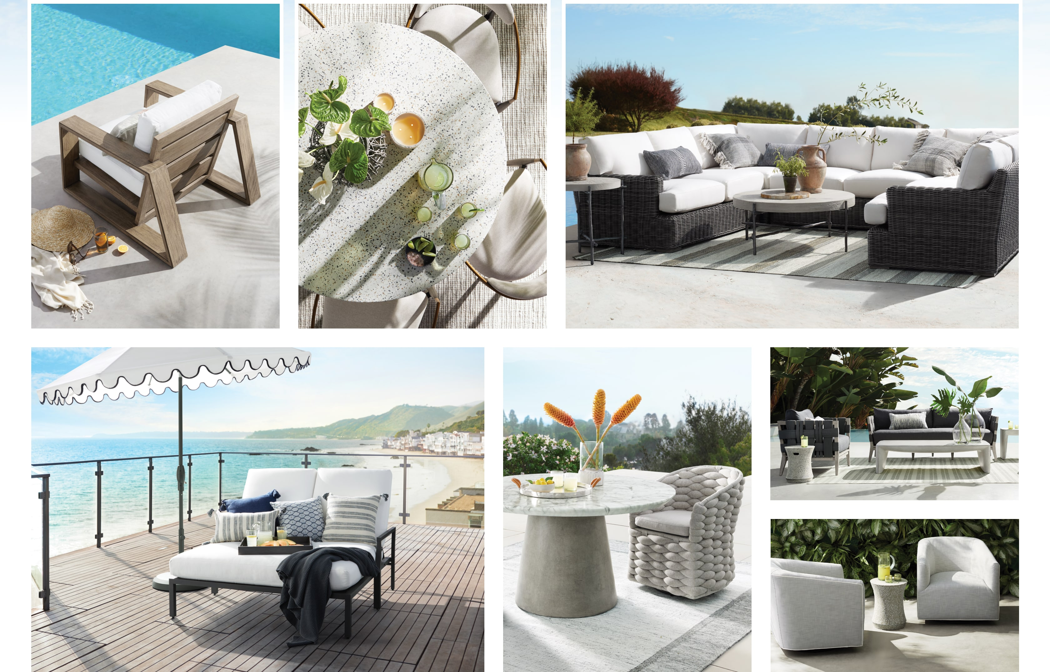 Shop the Arhaus 2021 Outdoor Collection