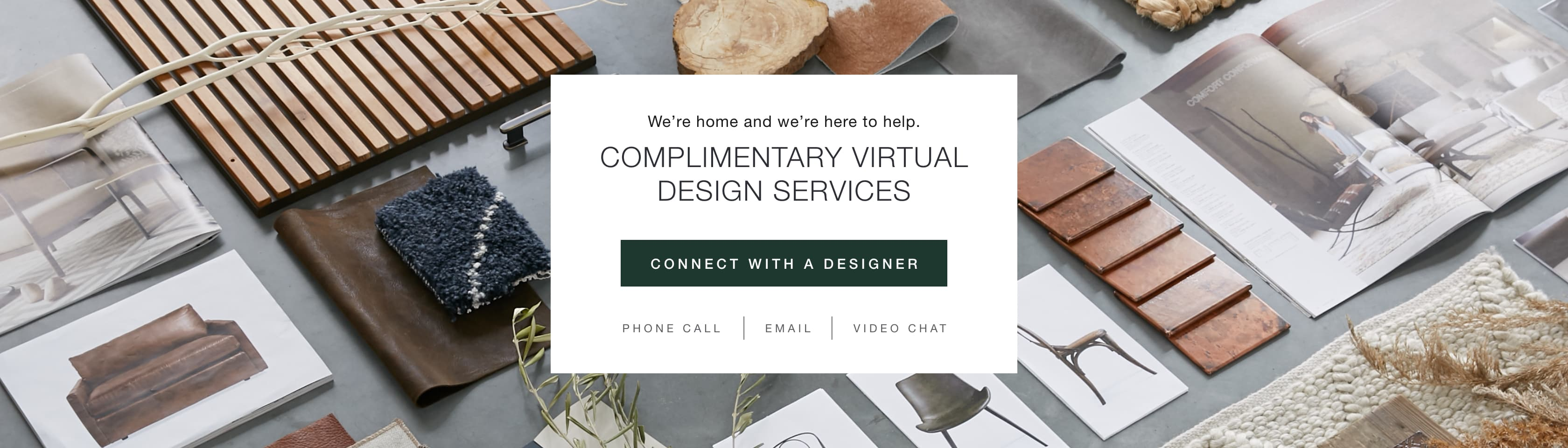 Connect with a Designer