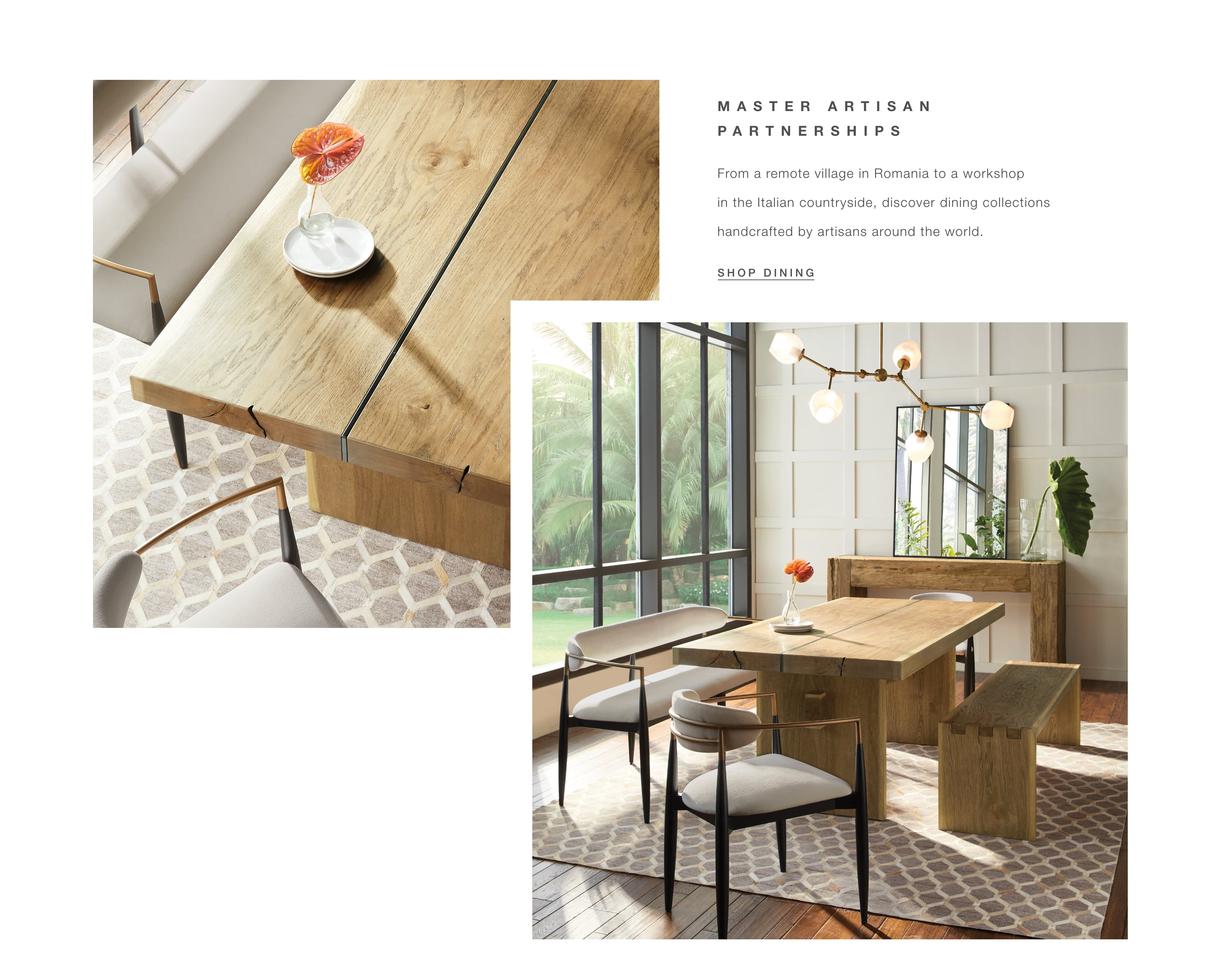 Shop Dining Room Furniture Made by Our Master Artisan Partners