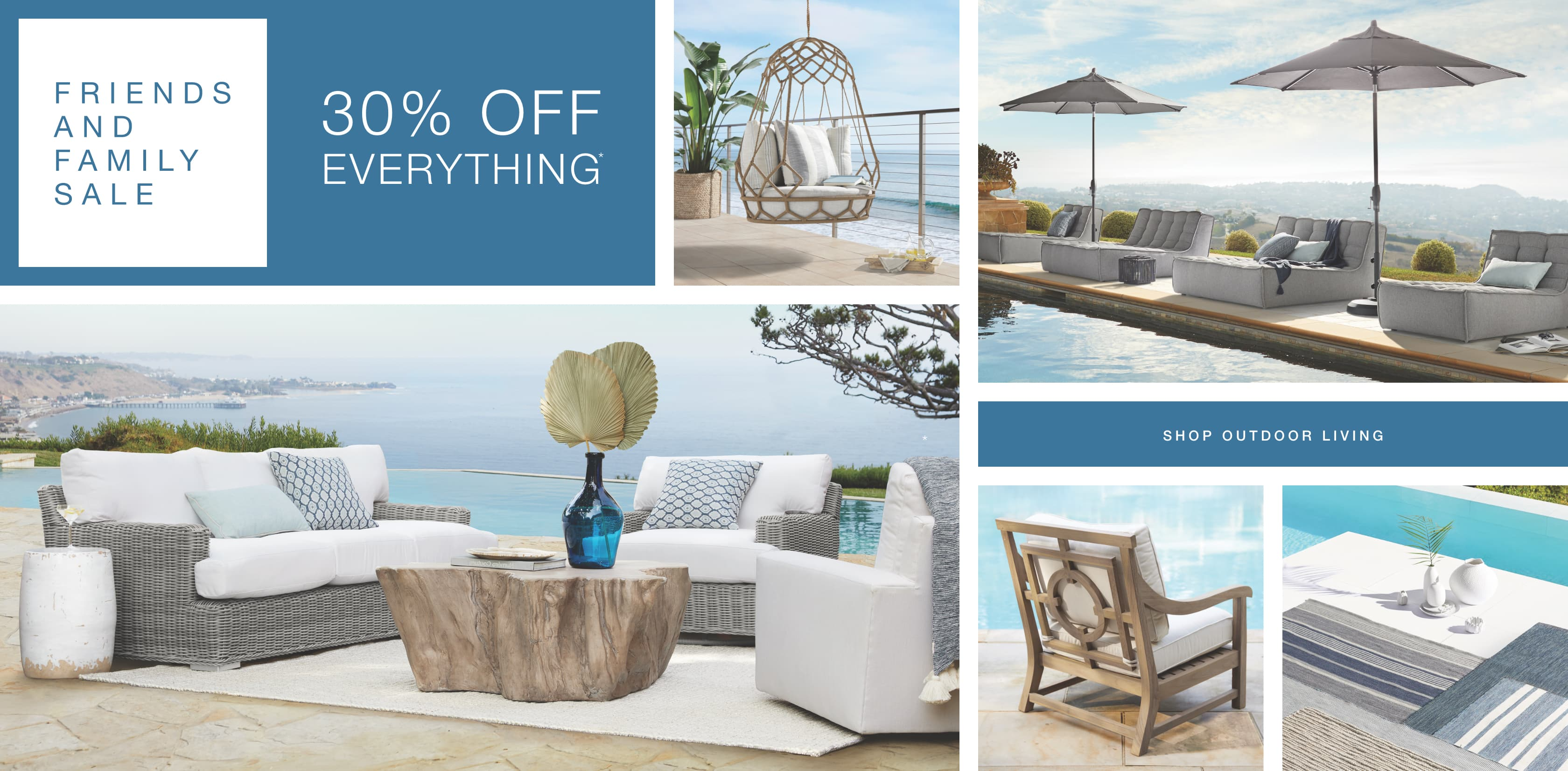 Shop Arhaus Outdoor Collections During the Friends and Family Sale