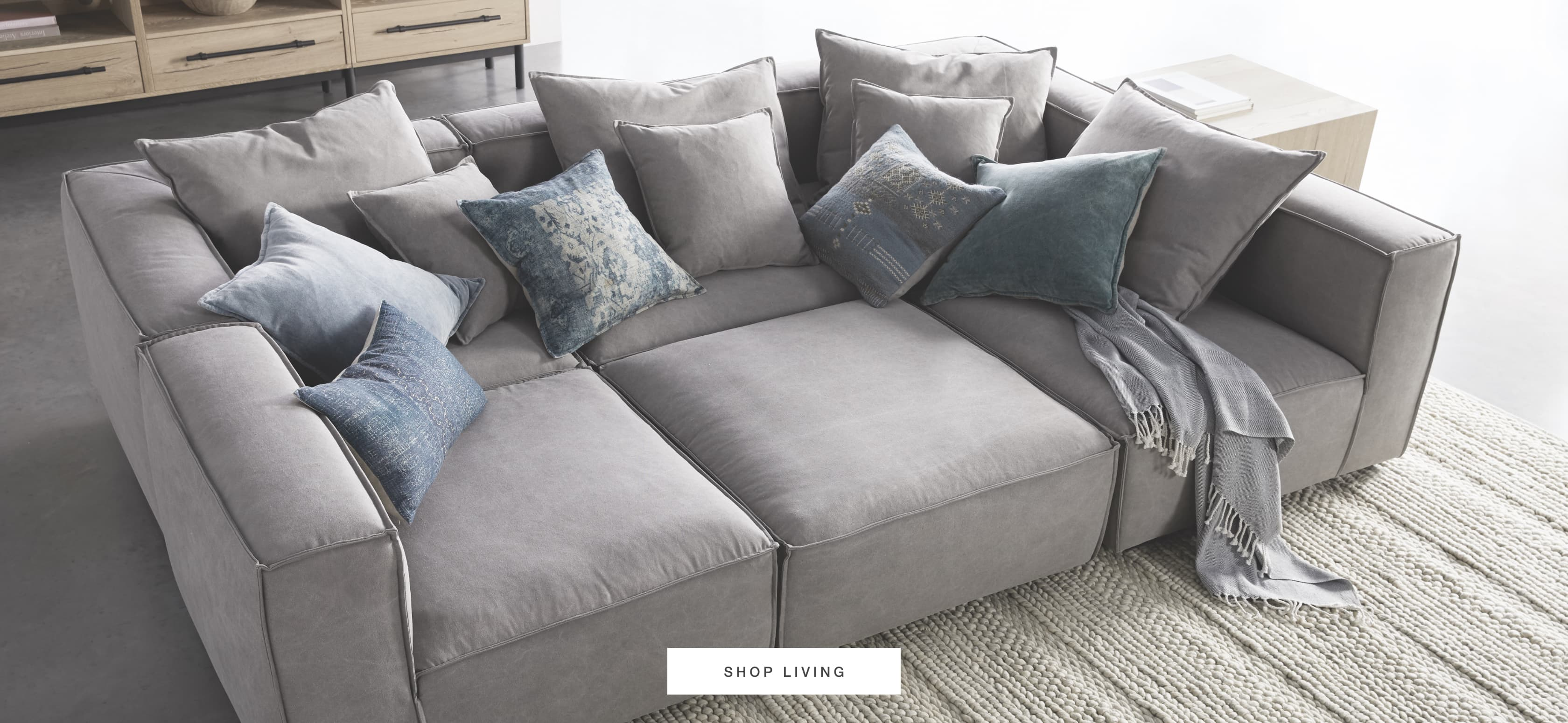 Shop Arhaus Living Room Furniture During the Friends and Family Sale
