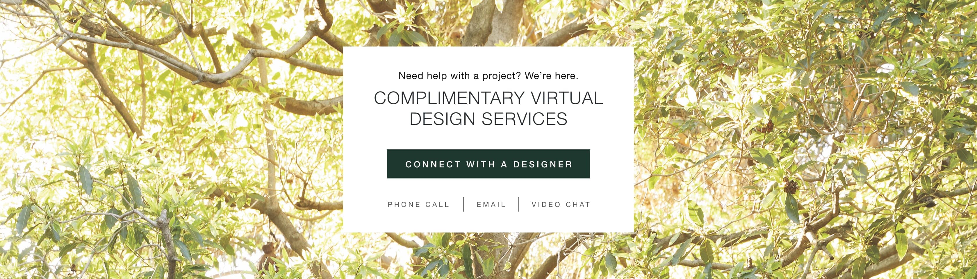 Connect with an Arhaus Designer