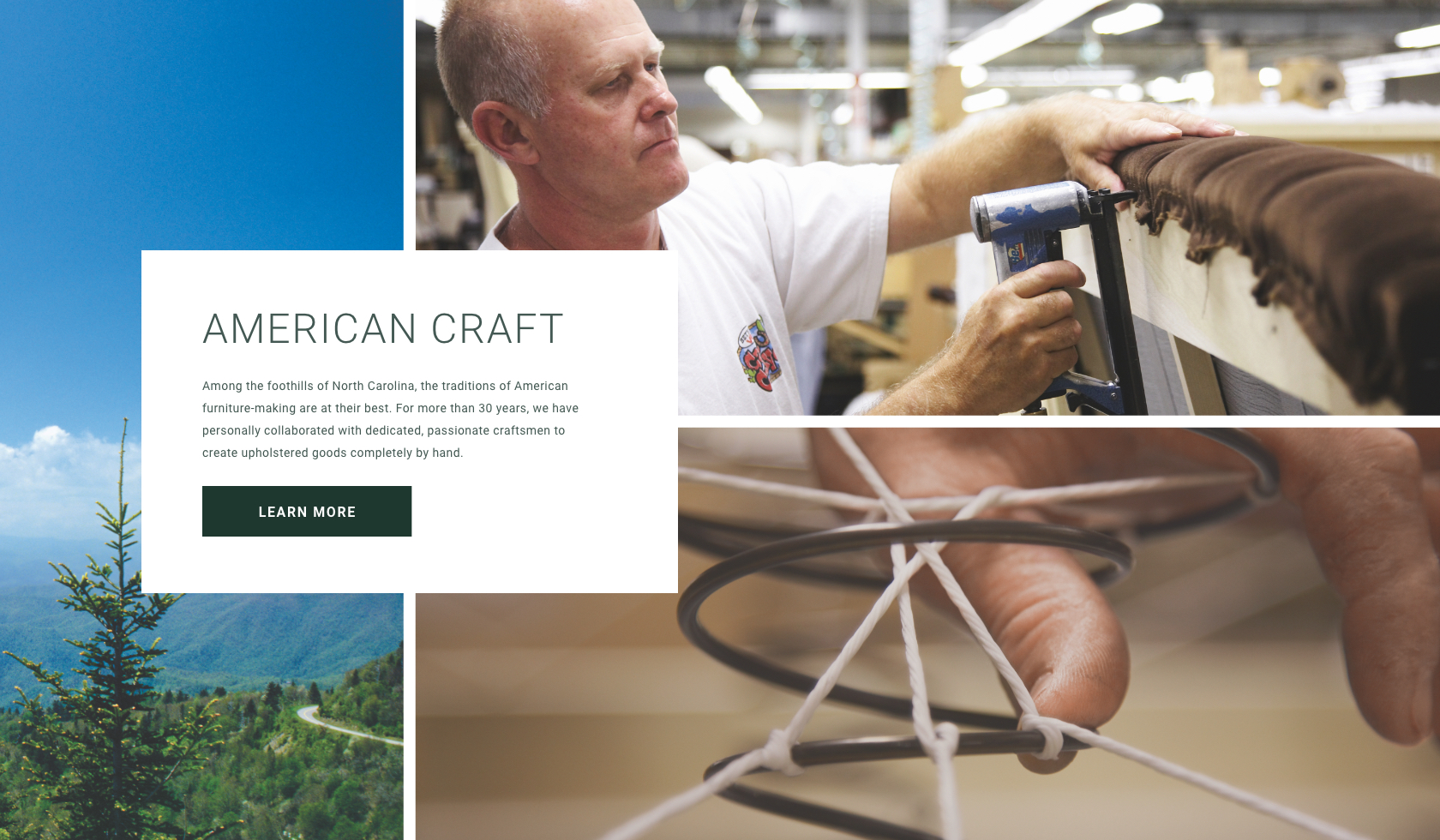 Learn More About our Upholstery Artisan Partners