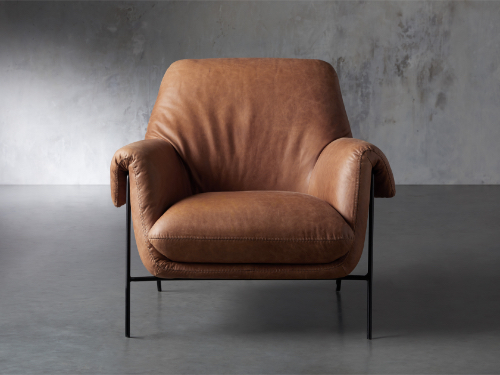 Engles Leather Chair