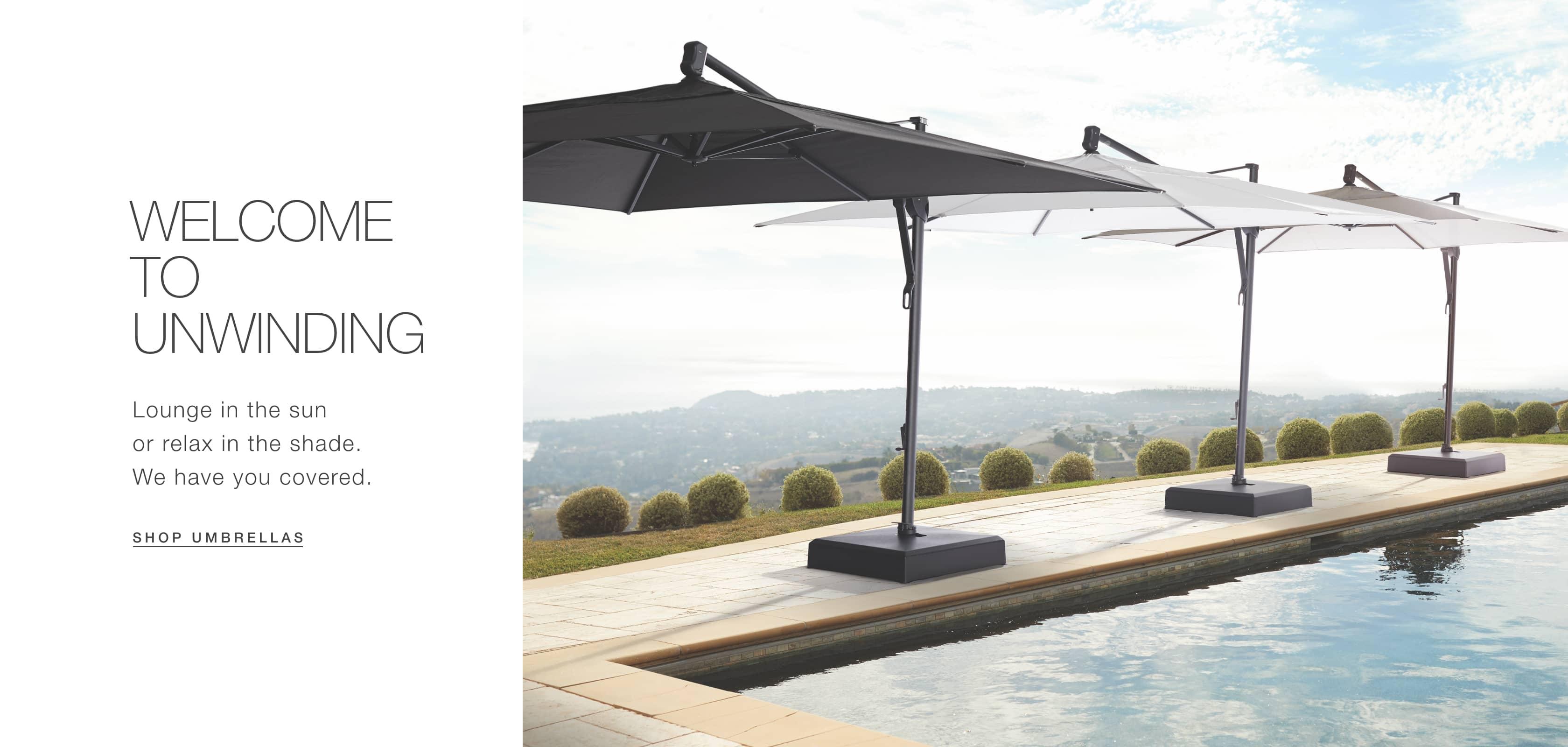 Shop Arhaus Outdoor Umbrellas