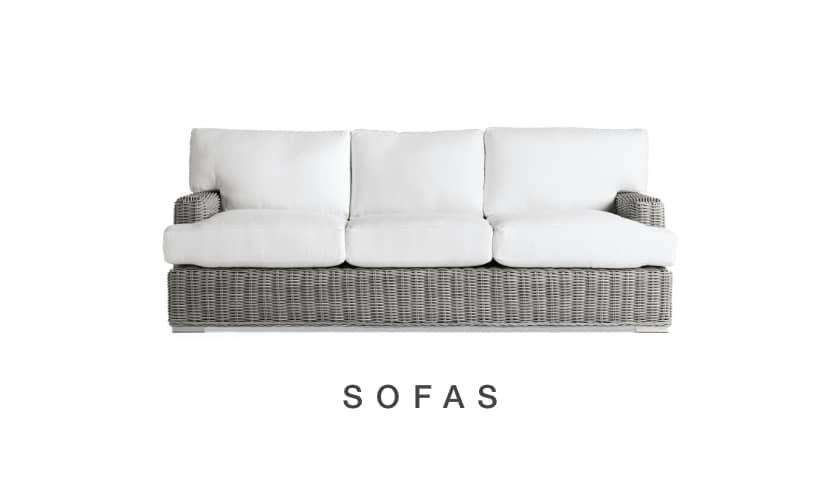 Shop Arhaus Outdoor Sofas