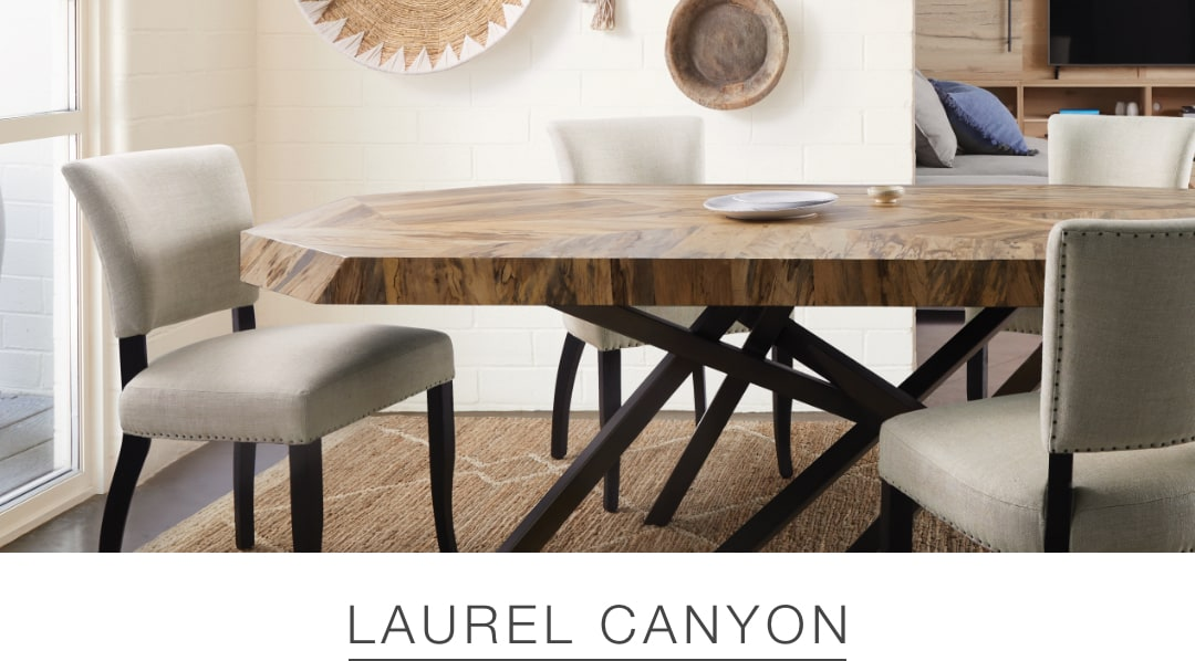 Shop the Laurel Canyon look at Arhaus