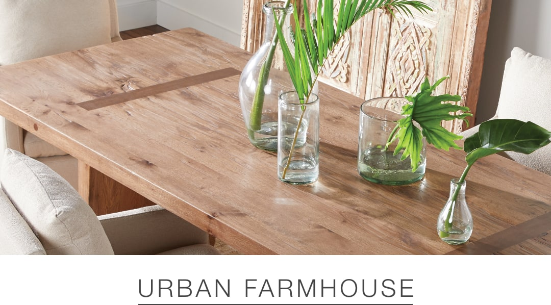 Shop the Urban Farmhouse look at Arhaus