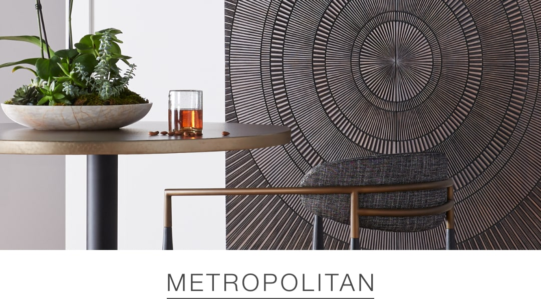 Shop the Metropolitan look at Arhaus