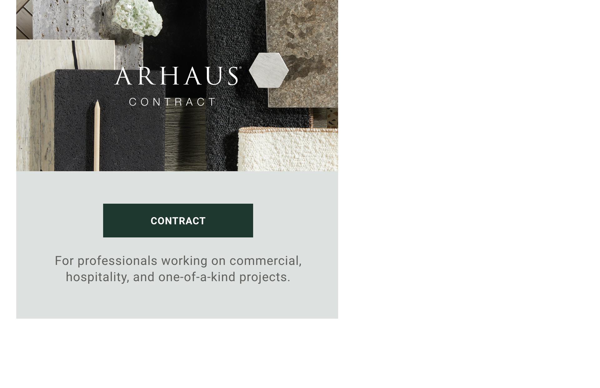 Arhaus Contract Program