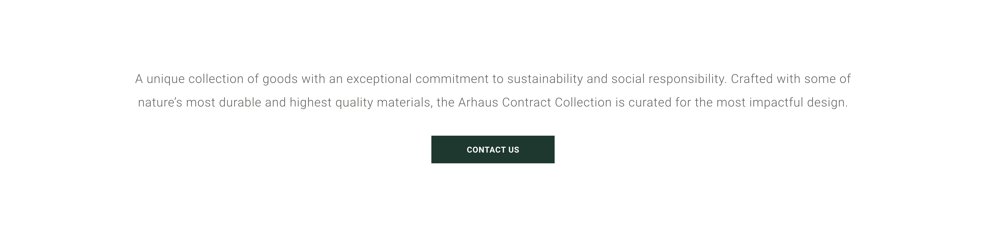 Contact Arhaus for Contract Business