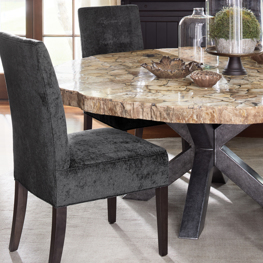 Petra Dining Table with Tao Dining Chair
