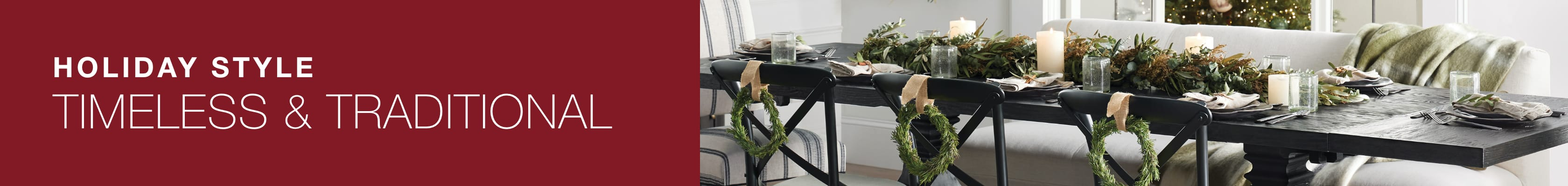 Shop Timeless & Traditional at Arhaus this holiday season