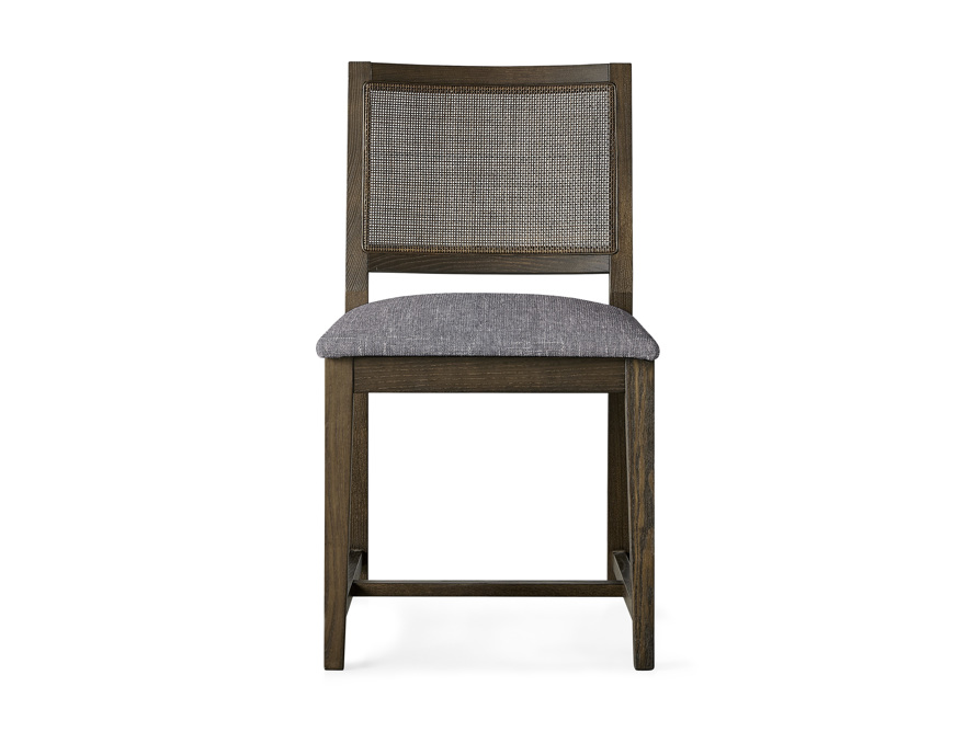 """Grace Cane 19"""" Dining Side Chair In Cinder Farmhouse, slide 1 of 8"""
