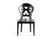 """Jordan 21"""" Dining Side Chair with Upholstered Seat in Midnight"""