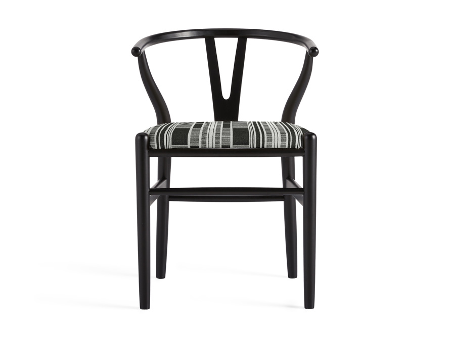 "Robin 21"" Dining Side Chair in Black, slide 1 of 11"