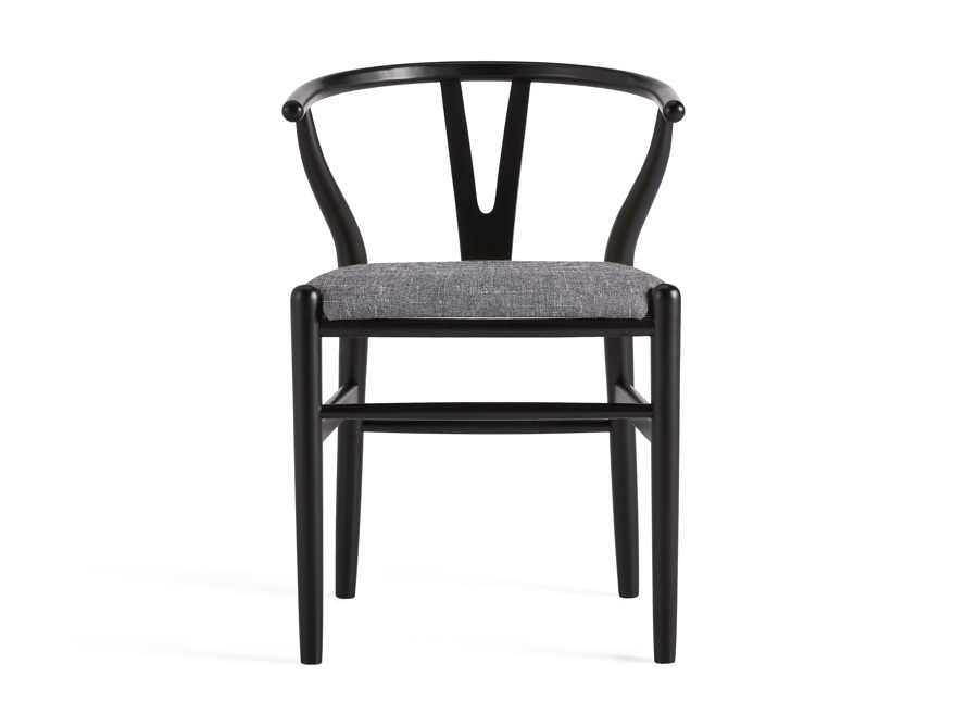 "Robin 21"" Dining Side Chair in Black, slide 1 of 11"