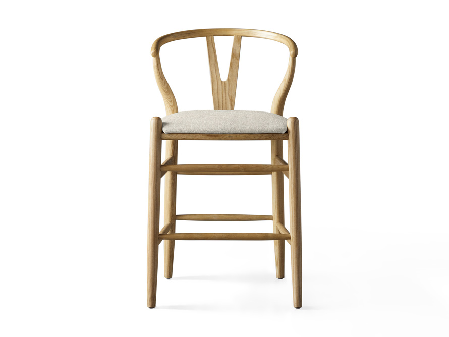 """Robin 21"""" Counterstool In Natural, slide 1 of 10"""