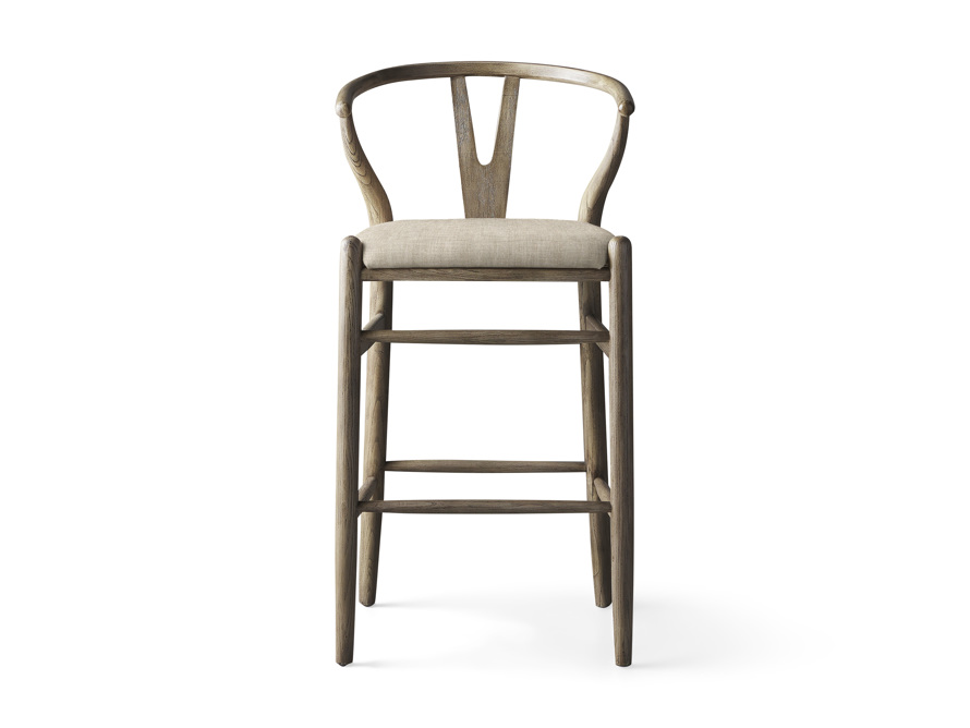 Robin Bar Stool in Stone Vintage, slide 1 of 8