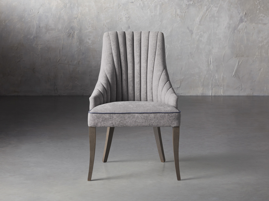 Elisa Dining Chair in Grizzly Cream, slide 1 of 9