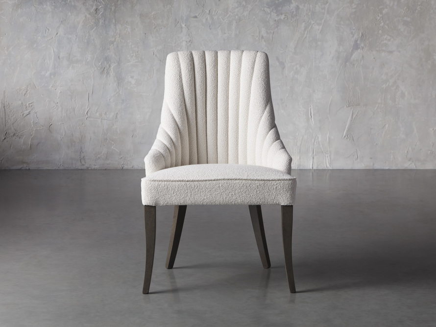 Elisa Dining Chair in Grizzly Cream, slide 1 of 8