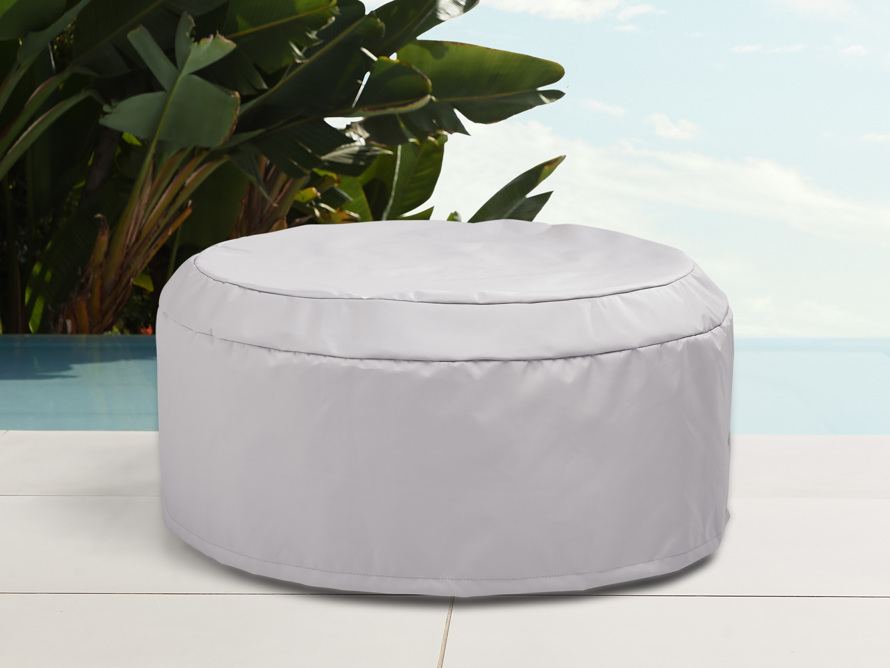 """Indio Outdoor 41"""" Round Coffee Table Cover, slide 1 of 4"""