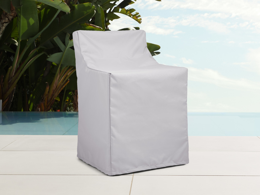 "Melbourne Outdoor 25"" Swivel Dining Chair Cover, slide 1 of 4"