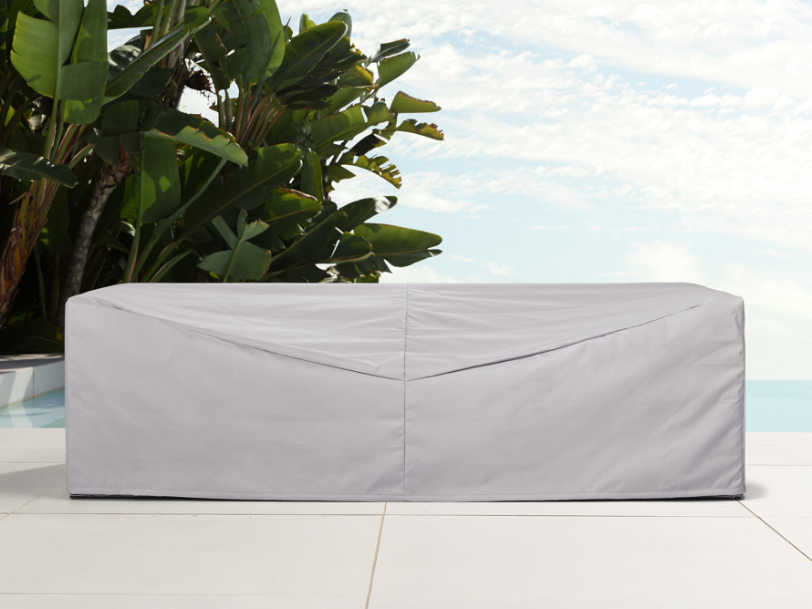 "Montauk Outdoor 107"" Sofa Cover, slide 1 of 4"