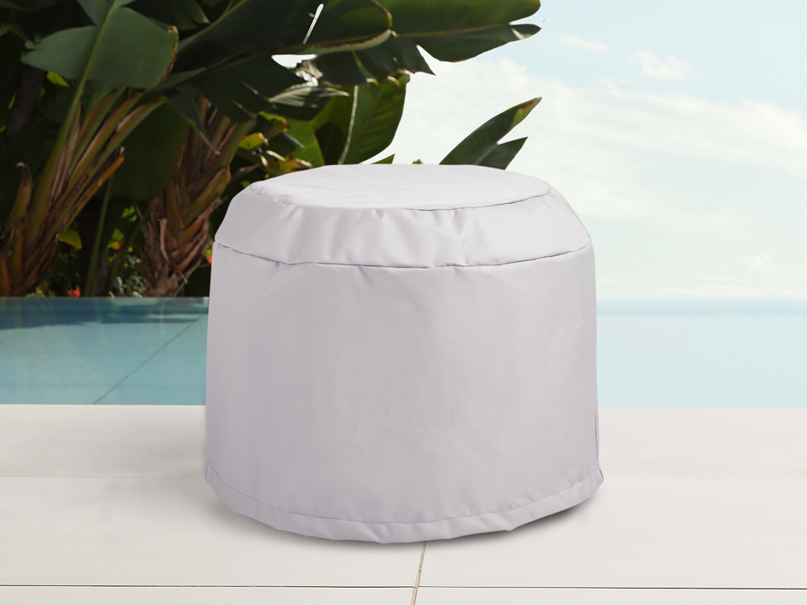 "Mykonos Outdoor 22"" End Table Cover, slide 1 of 3"