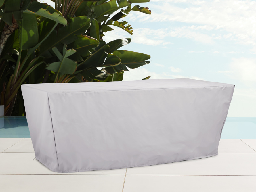 "Bourdeaux Outdoor 84"" Rectangle Dining Table Cover, slide 1 of 3"