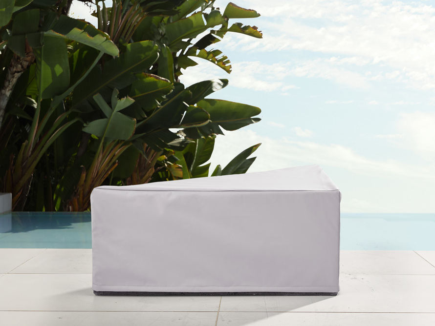 "Pacifica Outdoor 35"" Triangle Coffee Table Cover, slide 1 of 3"