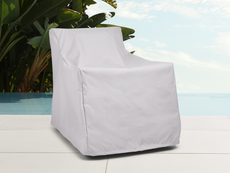 "Sofia Outdoor 35"" Lounge Chair Cover, slide 1 of 3"