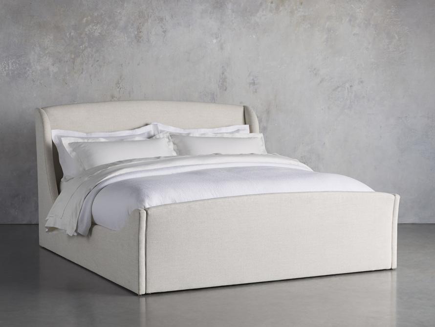Ella Upholstered Queen Bed, slide 1 of 7