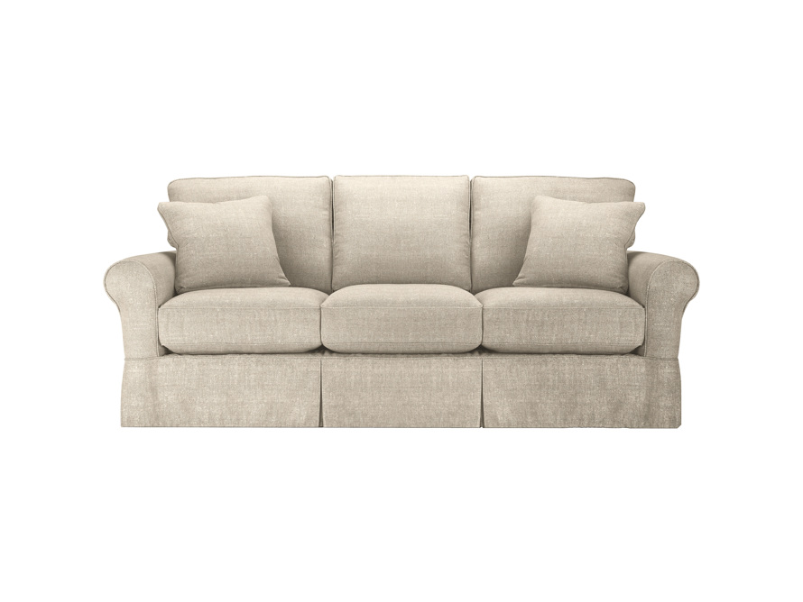 "Baldwin Outdoor 89"" Slipcovered Sofa"