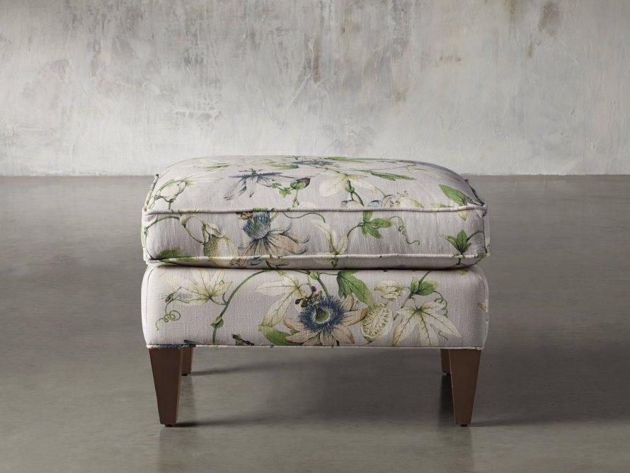 """Plazza 25"""" Upholstered Ottoman"""