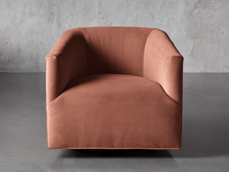 """Ellison Upholstered 31"""" Swivel Chair, slide 1 of 8"""