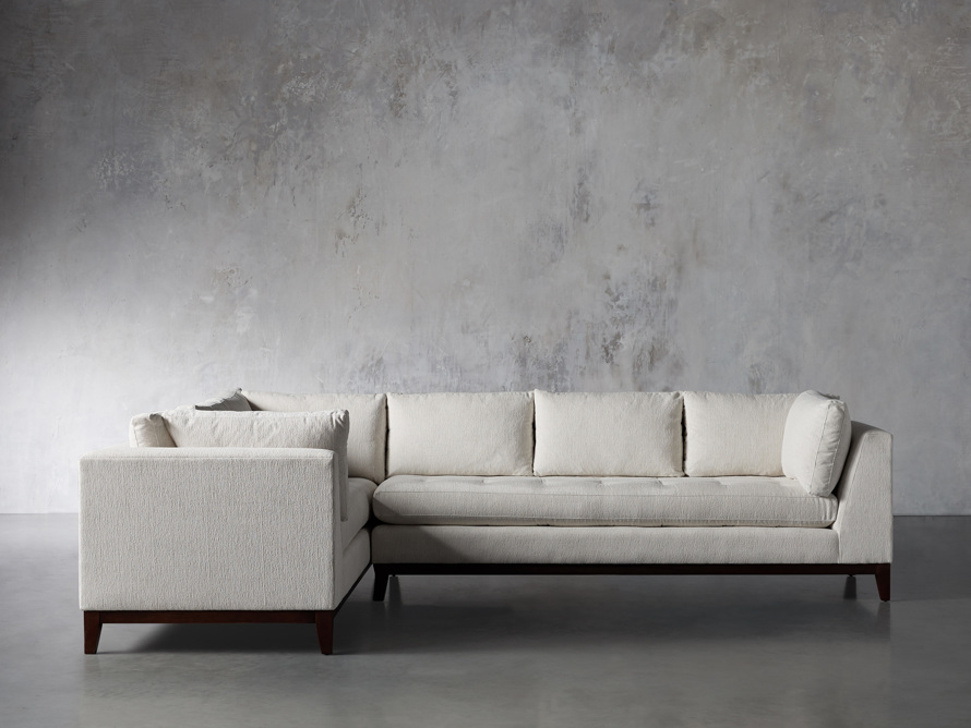 """Bryden Upholstered 90"""" Right Arm Two Piece Sectional, slide 1 of 7"""