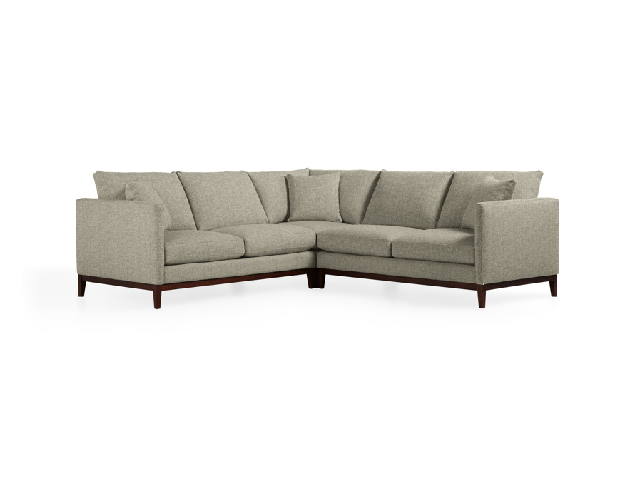 "Pier Upholstered 107"" Three Piece Sectional, slide 1 of 4"