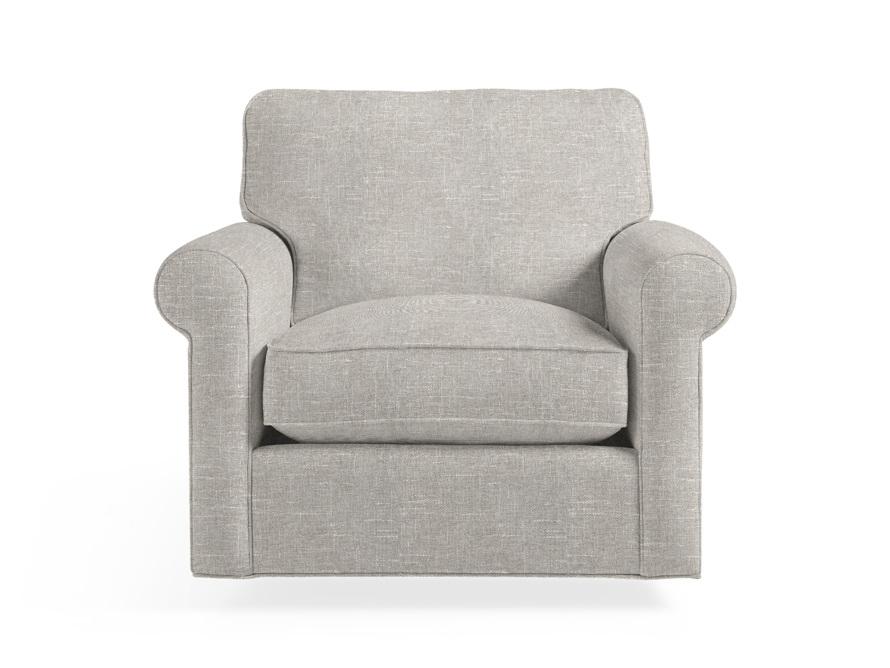 """Baldwin No Skirt Upholstered 44"""" Swivel Chair, slide 1 of 7"""