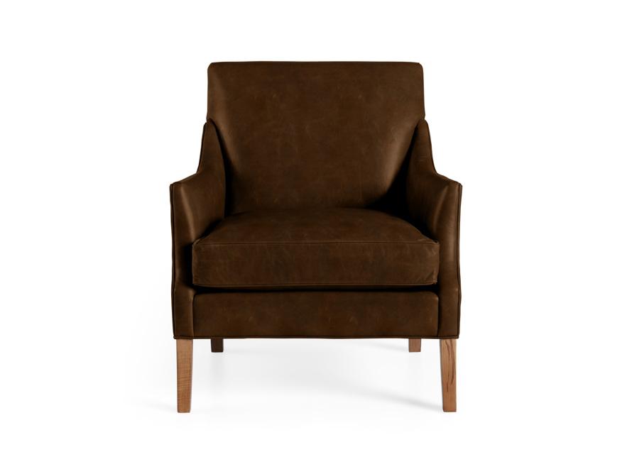 "Dori Leather 31"" Chair, slide 1 of 10"