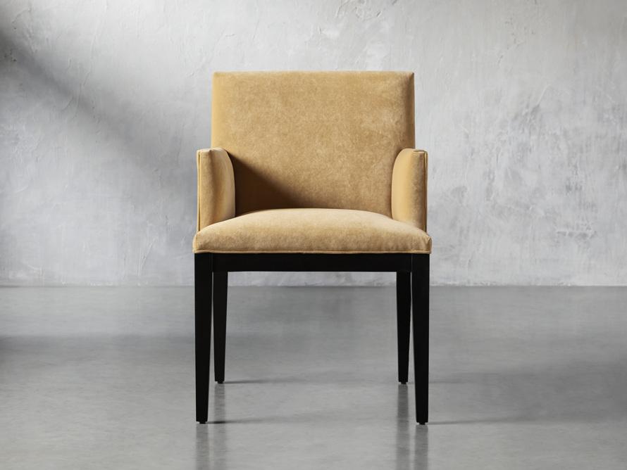 """Jasper Upholstered 24"""" Dining Arm Chair, slide 1 of 9"""
