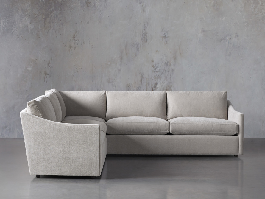"""Branson Upholstered 108"""" Three Piece Sectional, slide 1 of 7"""